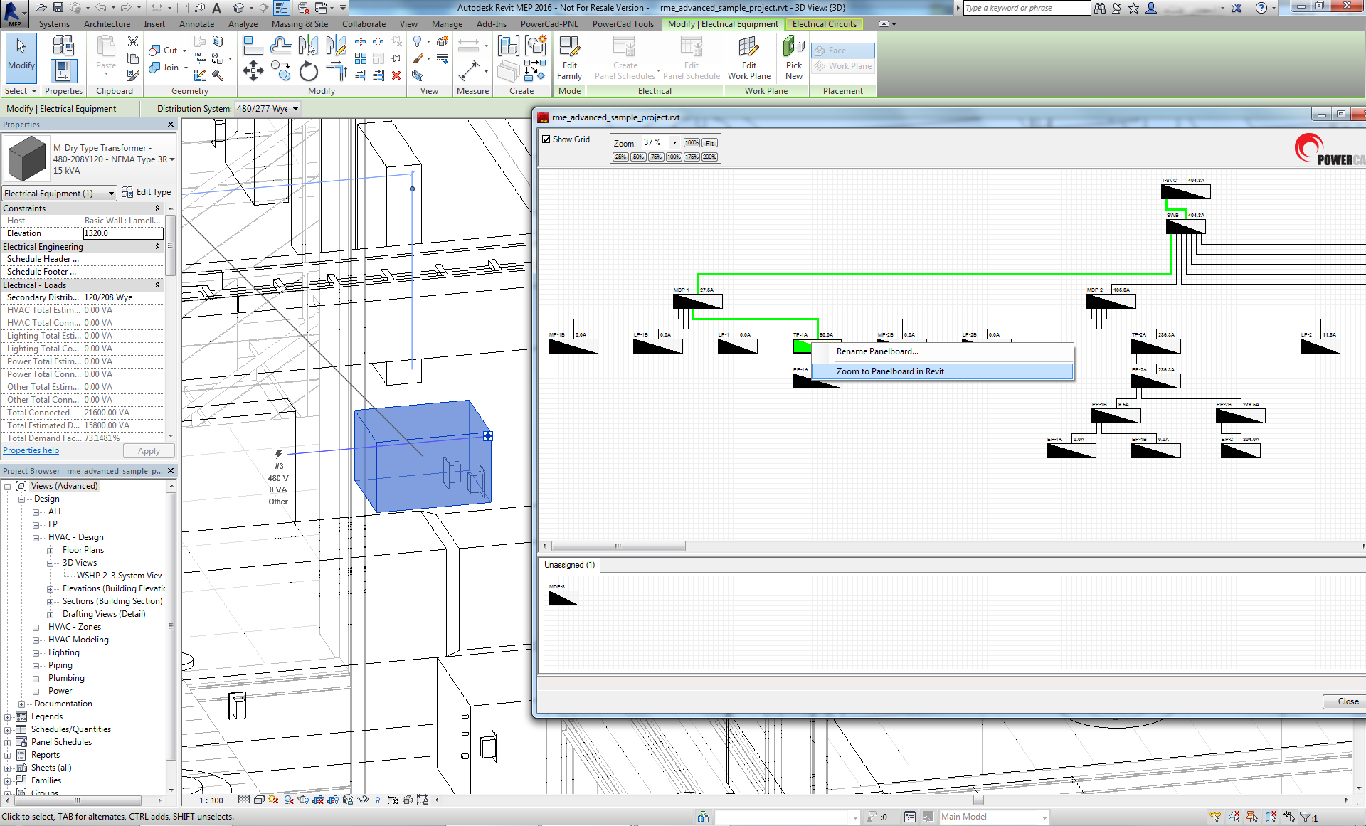 Powercad Pnl Panel Board Schematic After Youve Completed Your Electrical Layout In Revit Mep Bring Design Into The 5 Workspace Where You Can Complete Detailed